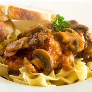 Easy Weeknight Chicken Cacciatore