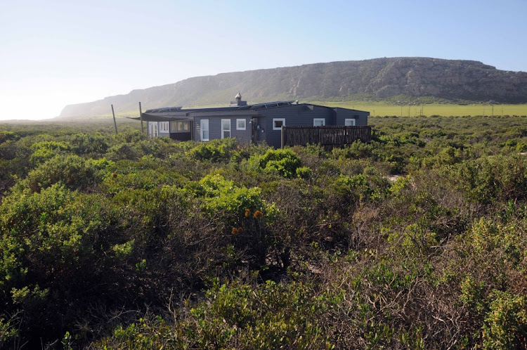 The illegally built R3m Mosselbaai beach house, near Elands Bay on the west coast, pictured in July 2013, about one year after completion. Picture: JOHN YELD