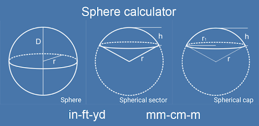 Sphere Inches Calculator - Apps on Google Play