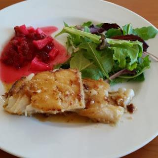 Honey Glazed Cod — Gluten-Free Recipe