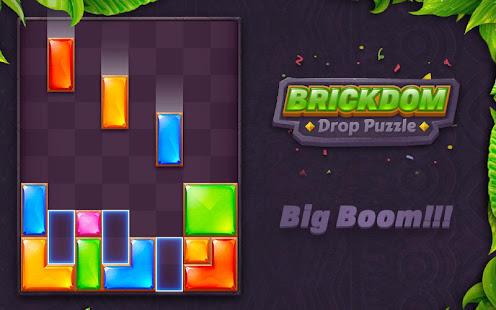 Download Brickdom - Drop Puzzle For PC Windows and Mac apk screenshot 14