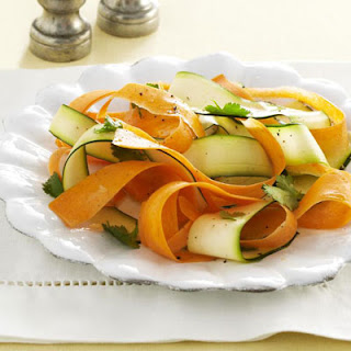 Carrot and Zucchini Ribbons Recipe