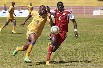 Photo: JacquesTUYISENGE (9) [Rwanda vs Sudan, CECAFA 2015, Semi final, 3 Dec 2015 in Addis Ababa, Ethiopia.  Photo © Darren McKinstry 2015, www.XtraTimeSports.net]