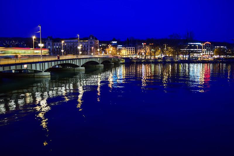 Zurigo in blue di © Budeanu Cristian