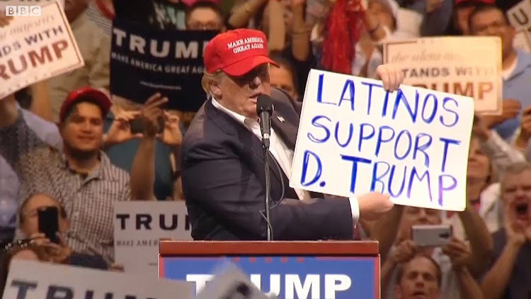 The Republican president gained a 6% vote share among black men and a 5% increase among Hispanic women.