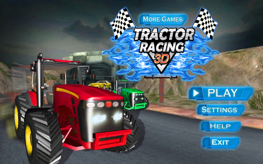 赛车3D游戏拖拉机