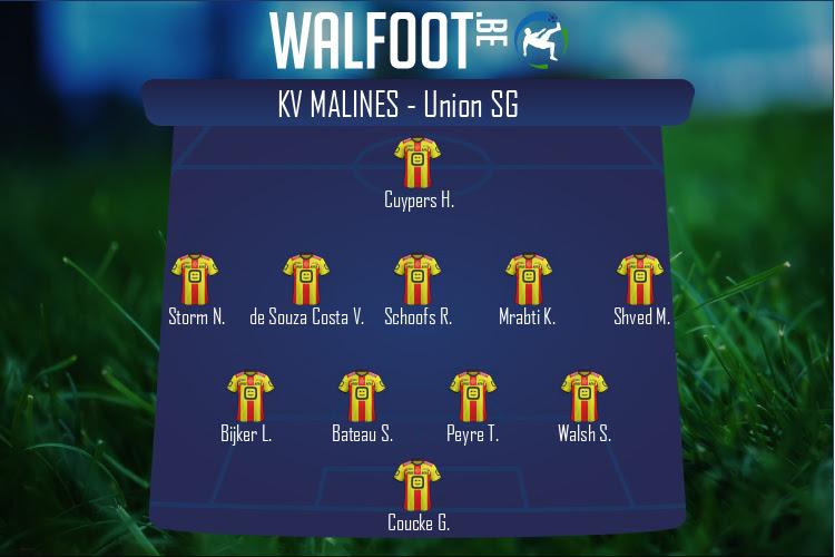 KV Malines (KV Malines - Union SG)