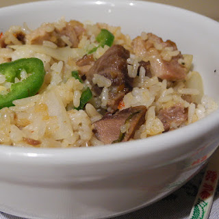 Left Over Pork Fried Rice.
