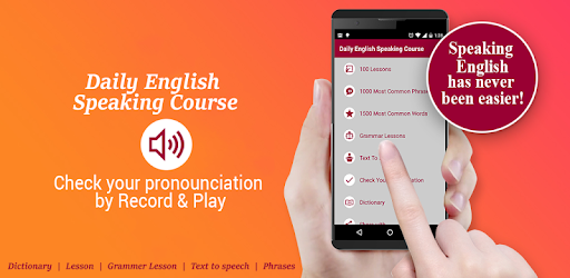 Learn English Speaking, Conversation, Vocabulary app (apk) free download for Android/PC/Windows screenshot