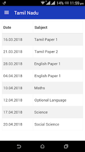Download 10th Time Table 2018 Date Sheet SSLC Results 2018 for Windows Phone apk screenshot 4