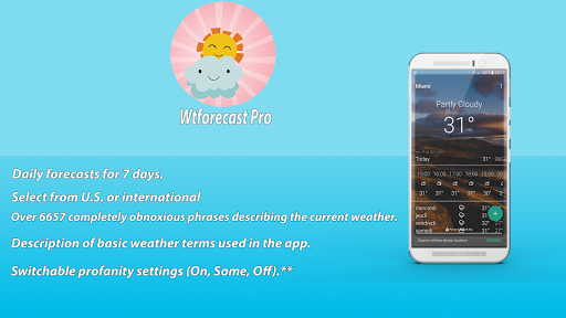 Wtforecast Pro app (apk) free download for Android/PC/Windows