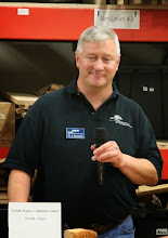 "Photo: Bob (""RJ"") Stroman announced that his abrasives business, ""2Sand.com"" is moving into a new bricks and mortar location off Shady Grove Road in Gaithersburg and invited members to come and take a look."