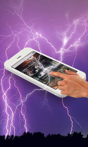 Electric Screen Shock Prank