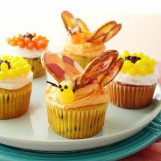 Butterfly Garden Cupcakes