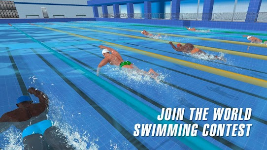 حمام سباحة سباق 2