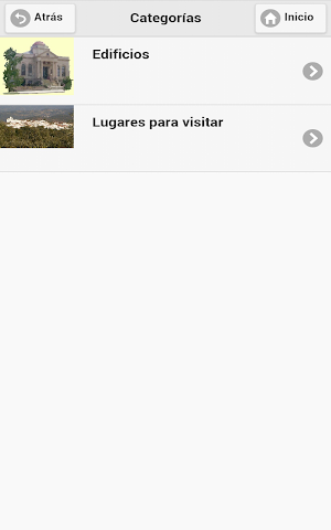 android Callejero Virtual de Hinojales Screenshot 10