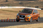 The Datsun Go couldn't manage to keep its tyres on the ground in a simple emergency lane-change task.