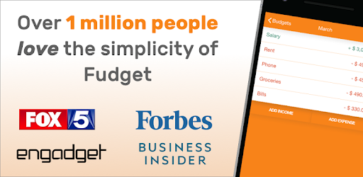 positive reviews fudget budget and expense tracking app by danny