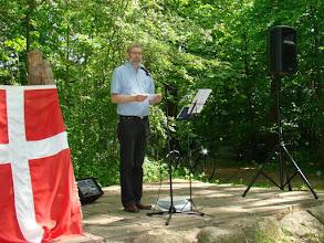 Photo: Jørgen Bak begrunder årets prisuddeling