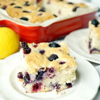 Lemon Cake With Blueberries Recipes
