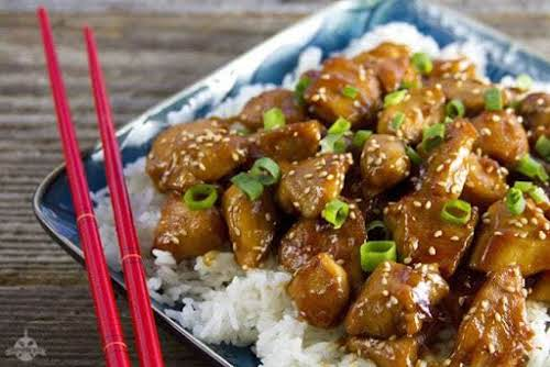"""Simple Skillet Orange Chicken """"If you've got a hankering for Chinese food..."""