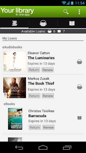 BorrowBox Library 3.00.03 screenshots 1