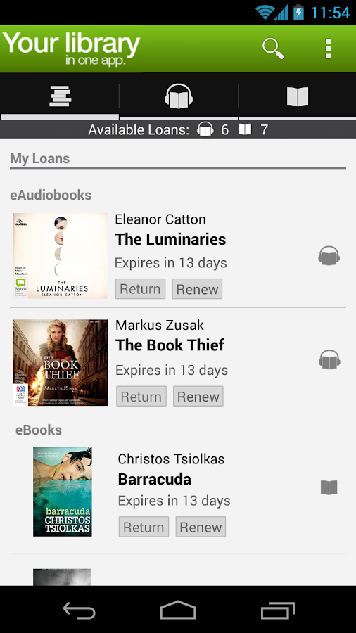BorrowBox Library- screenshot