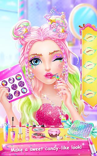 Candy Makeup Party Salon screenshots 2