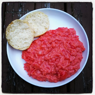 Beet and Goat Cheese Risotto