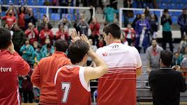 Los aficionados de Almería quieren buen baloncesto.