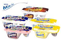 Angebot für Mix-in: Joghurt-Genuss im Supermarkt
