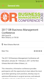 OR Business Management Conf. for PC-Windows 7,8,10 and Mac apk screenshot 2