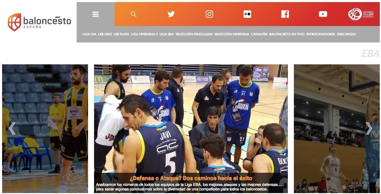 La FEB destaca de nuevo a UDEA Algeciras en su web