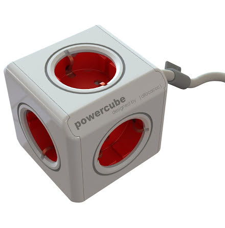 Grenuttag Powercube 5uttag1,5m