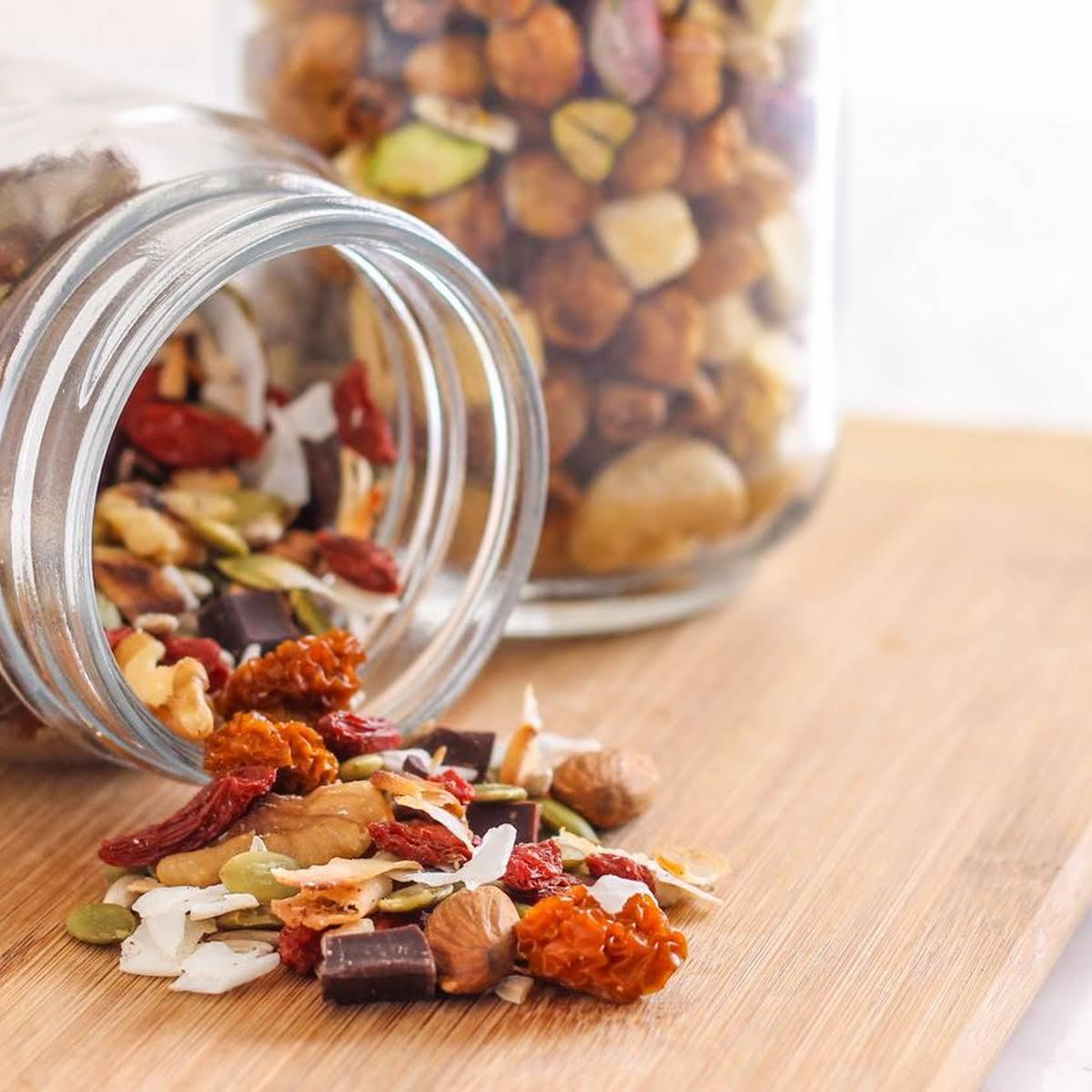 Health Nut's Indulgence Trail Mix