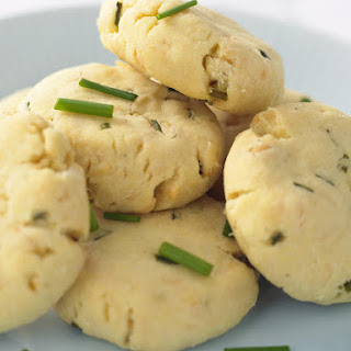 Parmesan and Chive Shortbread