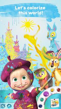 Download Maşa Ile Koca Ayı çocuk Boyama Oyunları Oyna Apk Latest