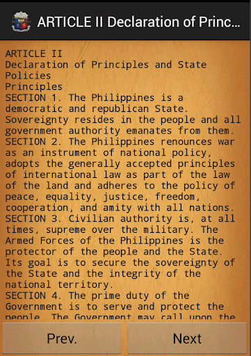 article v philippine constitution Article 15 - philippines constitution section 1 the state recognizes the filipino family as the foundation of the nation this is particularly imposed by the constitution with respect to the care of its elderly members by the state - existing laws grant benefits for sickness, disability, accident, etc to.