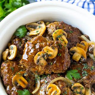 Slow Cooker Salisbury Steak Recipe