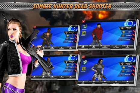 Zombie Hunter Dead Shooter - náhled