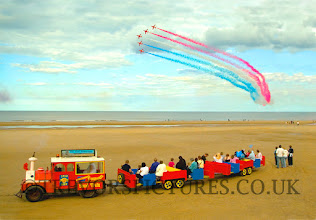 Photo: OUR OWN SAND TRAIN AND THE RED ARROWS