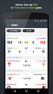 Preplay: MLB, Football - screenshot thumbnail