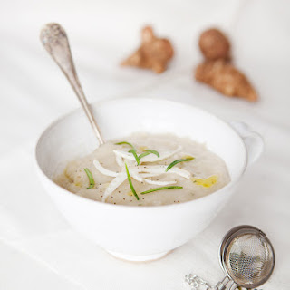 Green Tea Infused Sunroot Soup