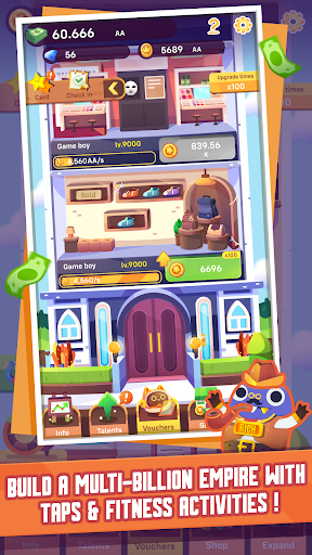Code Triche Fit Tycoon - Business Clicker with a healthy twist APK MOD screenshots 3
