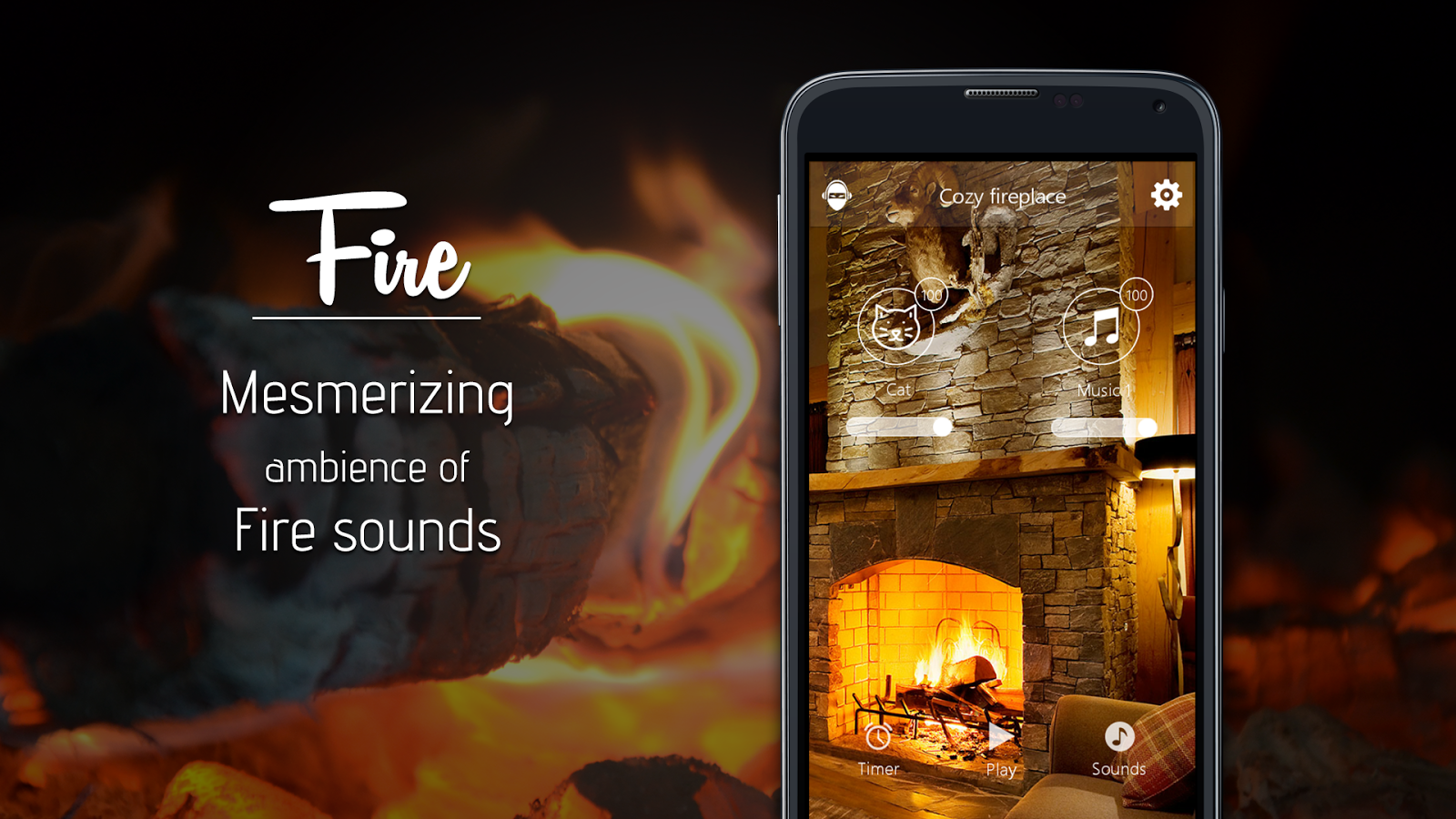 fireplace indoor fire hd android apps on google play