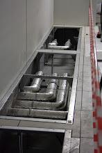 Photo: Réseaux d'eau glacée. Visite de chantier (25.09.2014)