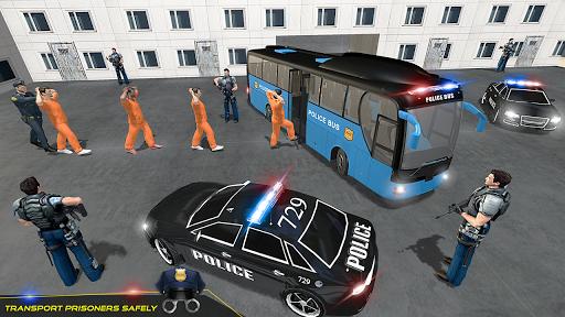 US Police Bus Transport Prison Break Survival Game 4.0 screenshots 3