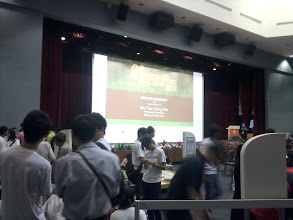 Photo: 25 January - Singapore Science Centre - At the annual Singapore Robotic Games.
