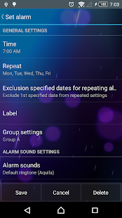 Smart Alarm Free (Alarm Clock)- screenshot thumbnail