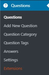 dw-question-and-answer-plugin-setting